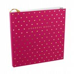 Pink and Gold Designer Address Book From 'By Appointment' Range Of Decorative Stationery